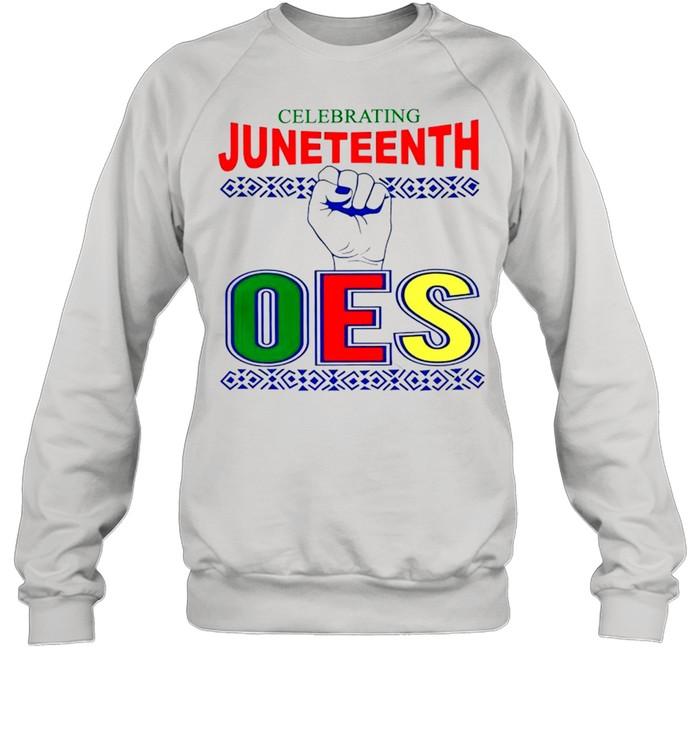 Celebrating Juneteenth one shirt Unisex Sweatshirt