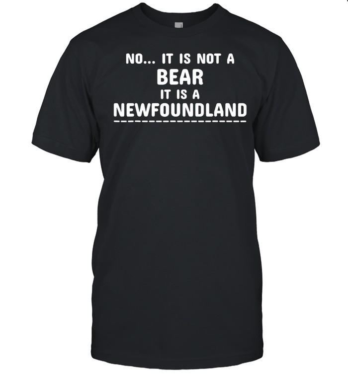 No it is not a bear it is a newfoundland shirt Classic Men's T-shirt
