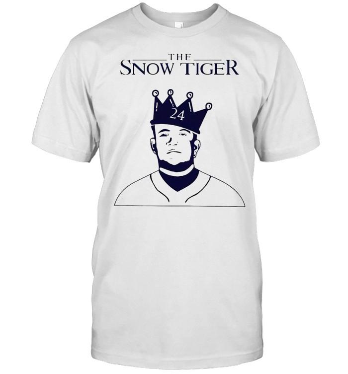 Miguel Cabrera the snow tiger shirt Classic Men's T-shirt