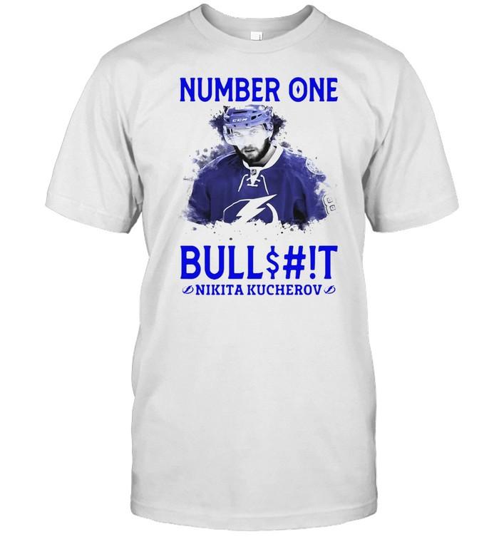 Number One Bullshit Stanley Cup Champions Nikita Kucherov T-shirt Classic Men's T-shirt