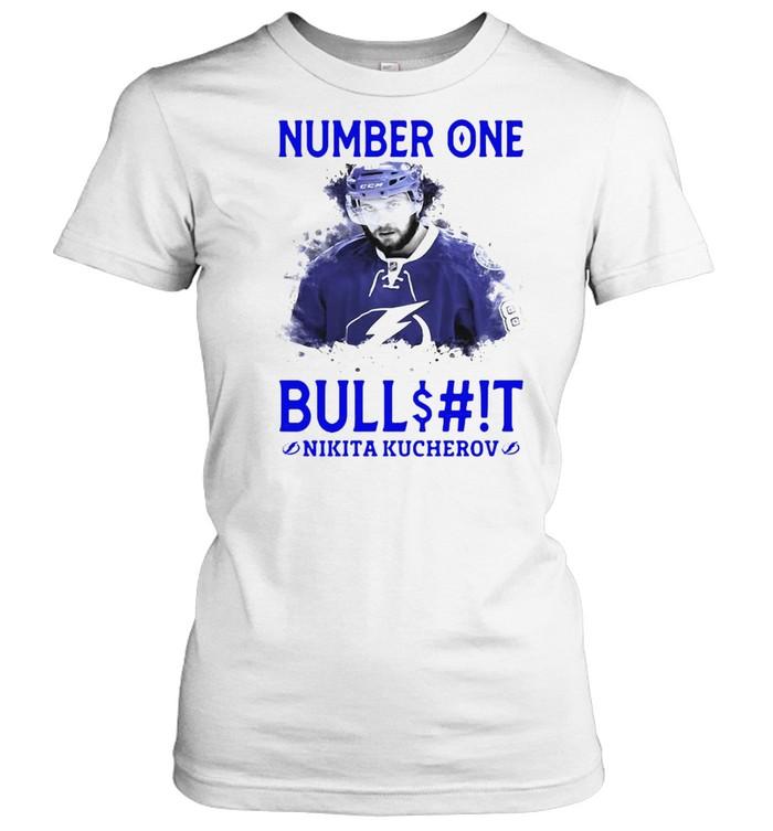 Number One Bullshit Stanley Cup Champions Nikita Kucherov T-shirt Classic Women's T-shirt