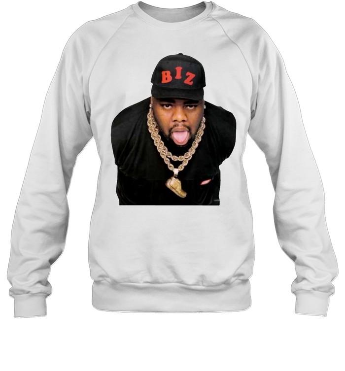 Rap legend Mr Biz Markie t-shirt Unisex Sweatshirt