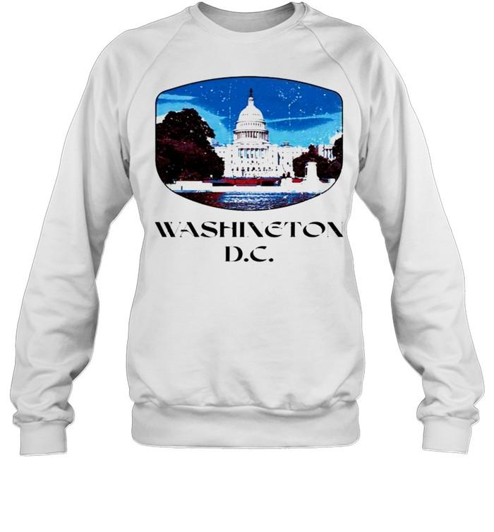 Washington D.C. Capitol Hill shirt Unisex Sweatshirt