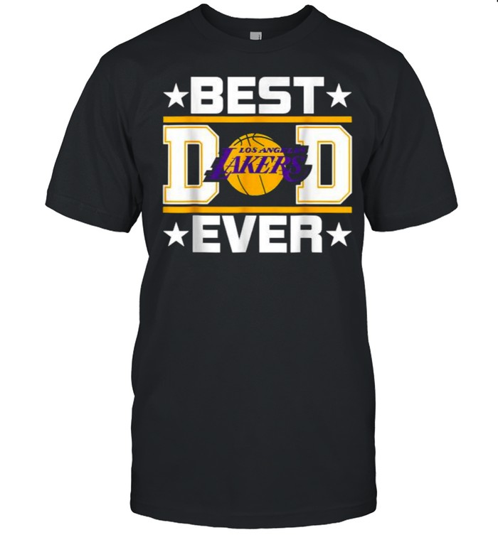 Best Lakers Los Angeles Dad Ever Fathers day T- Classic Men's T-shirt