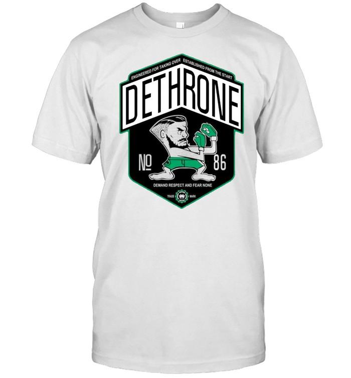 Dethrone conor Mcgregor shirt Classic Men's T-shirt