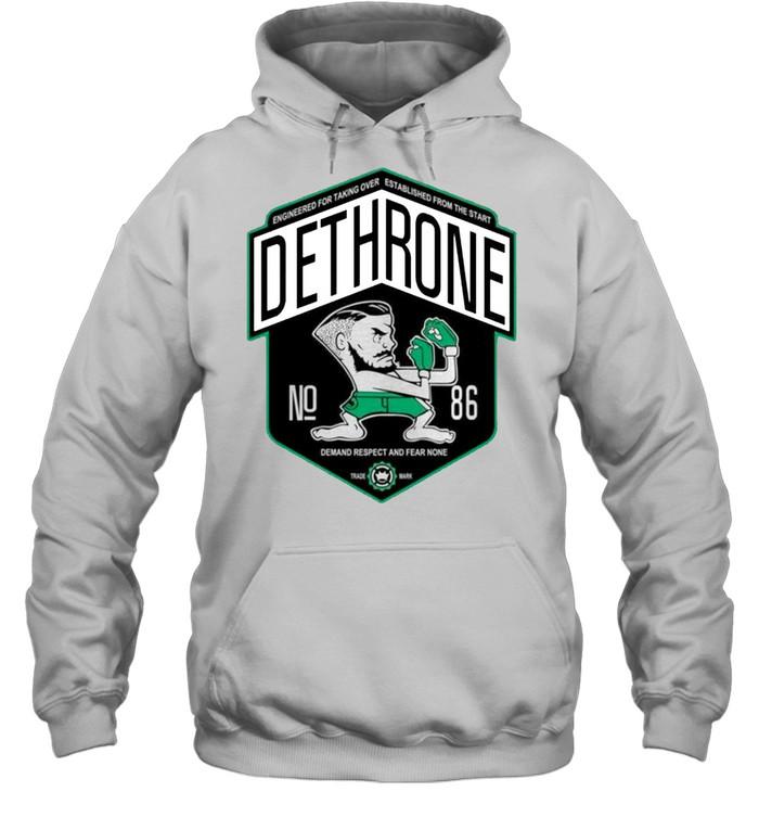 Dethrone conor Mcgregor shirt Unisex Hoodie