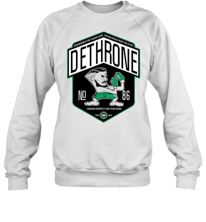 Dethrone conor Mcgregor shirt Unisex Sweatshirt