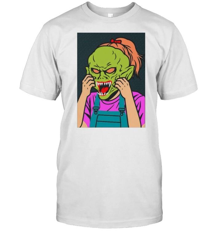 Girl Goosebumps shirt Classic Men's T-shirt