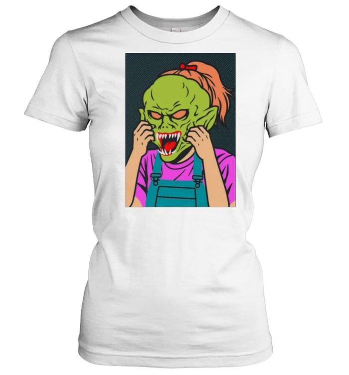 Girl Goosebumps shirt Classic Women's T-shirt