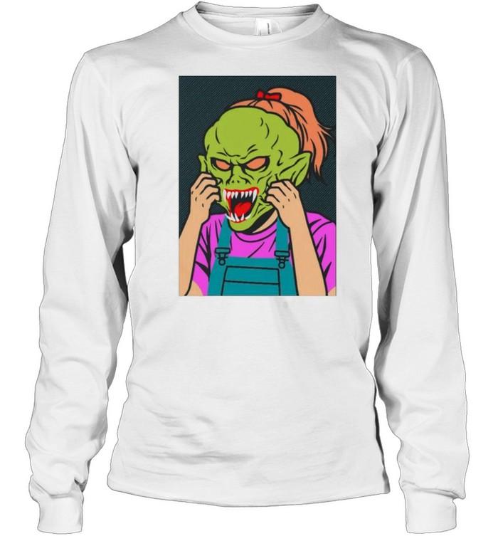 Girl Goosebumps shirt Long Sleeved T-shirt