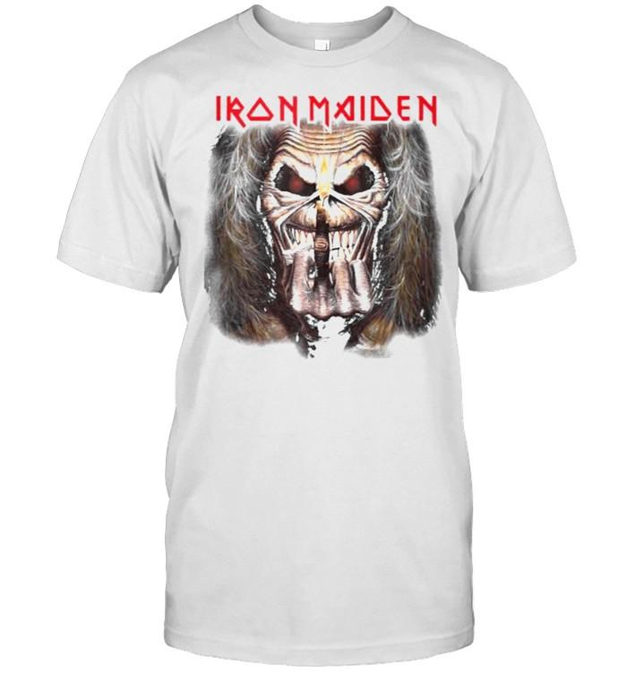 Iron Maiden – Candle Finger Eddie T- Classic Men's T-shirt