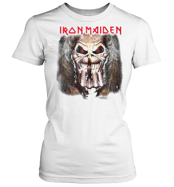 Iron Maiden – Candle Finger Eddie T- Classic Women's T-shirt