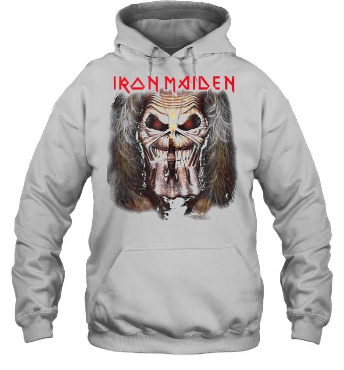 Iron Maiden – Candle Finger Eddie T- Unisex Hoodie