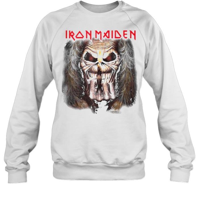 Iron Maiden – Candle Finger Eddie T- Unisex Sweatshirt