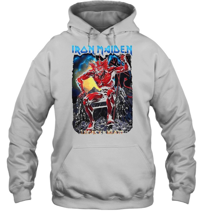 Iron Maiden Legacy of the Beast Devil T- Unisex Hoodie