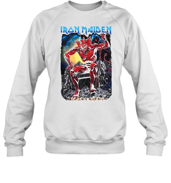 Iron Maiden Legacy of the Beast Devil T- Unisex Sweatshirt