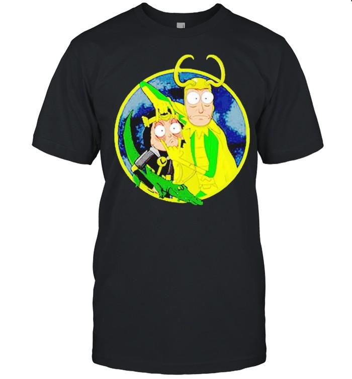 Loki Rick Sanchez Time Variance Authority shirt Classic Men's T-shirt
