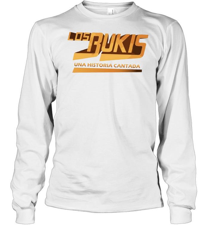 Los Bukis Mexican Grupera Band Bukis Fans shirt Long Sleeved T-shirt