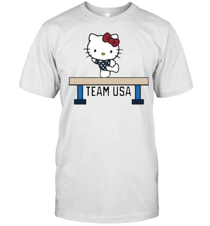 Team USA x Hello Kitty Gymnastics shirt Classic Men's T-shirt