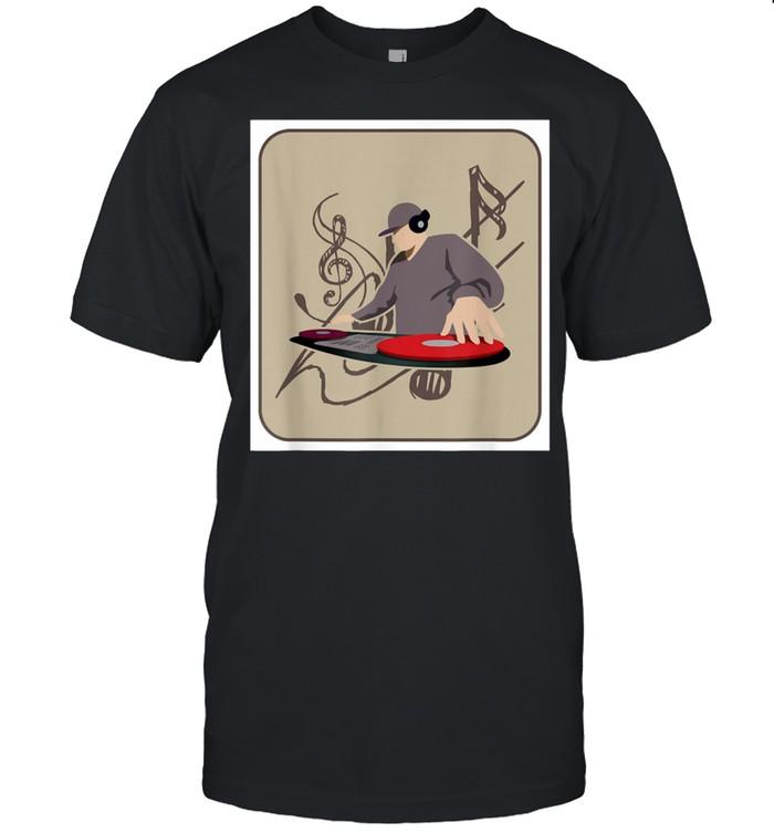 Traditional Music Party Mexican Lottery El DJ Bingo Club shirt Classic Men's T-shirt