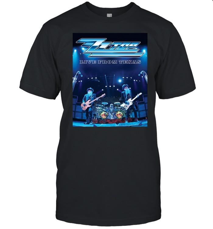 Zz Top Band Tour Live from Texas shirt Classic Men's T-shirt