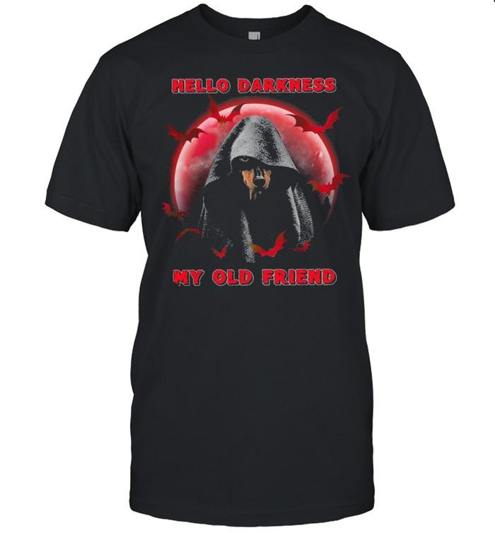 Dachshunds Hello Darkness my old friend Halloween shirt Classic Men's T-shirt