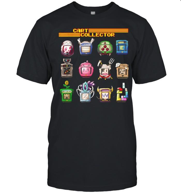 Handheld Gaming Cart Collector Retro T-shirt Classic Men's T-shirt