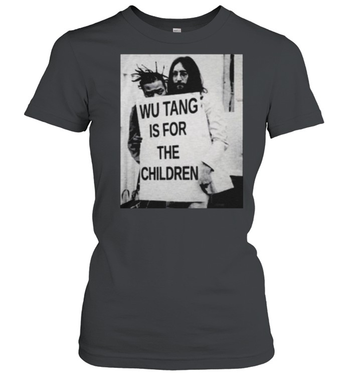 Wu Tang Is For The Children  Classic Women's T-shirt