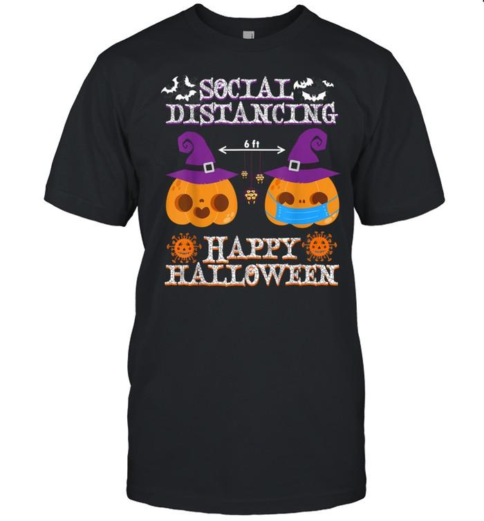 Happy halloween social distancing Covid shirt Classic Men's T-shirt
