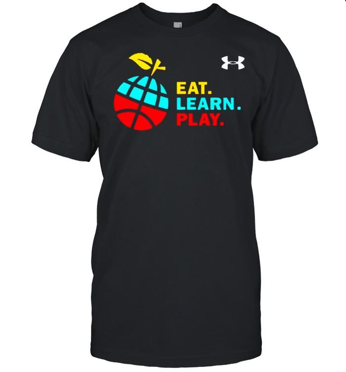 Stephen Curry eat learn play shirt Classic Men's T-shirt