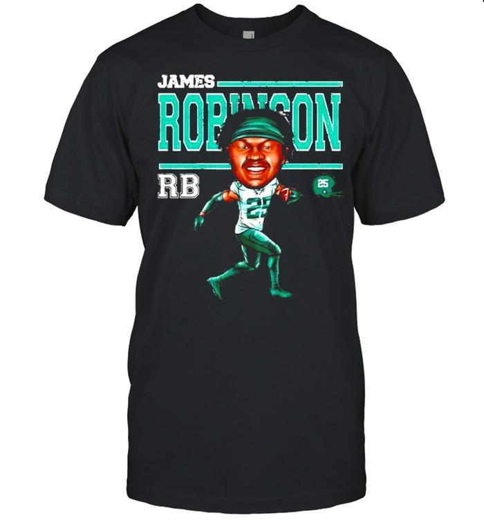 Jacksonville Jaguars James Robinson cartoon shirt Classic Men's T-shirt