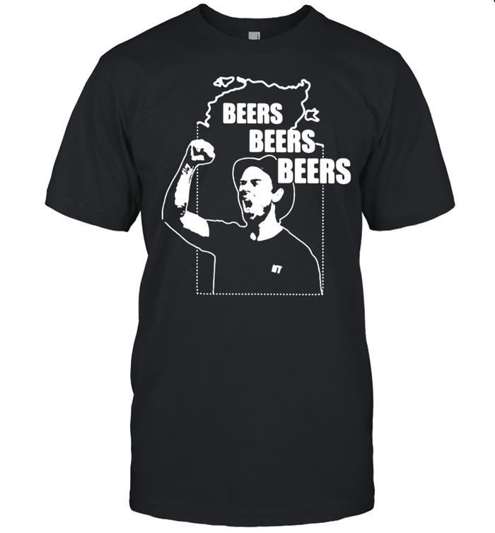 Jimmy Beers Beers Beers Rees Merchandise T-shirt Classic Men's T-shirt