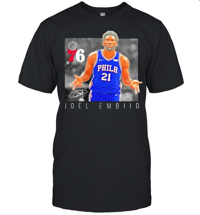 Joel Embiid Philadelphia 76ers heroes shirt Classic Men's T-shirt
