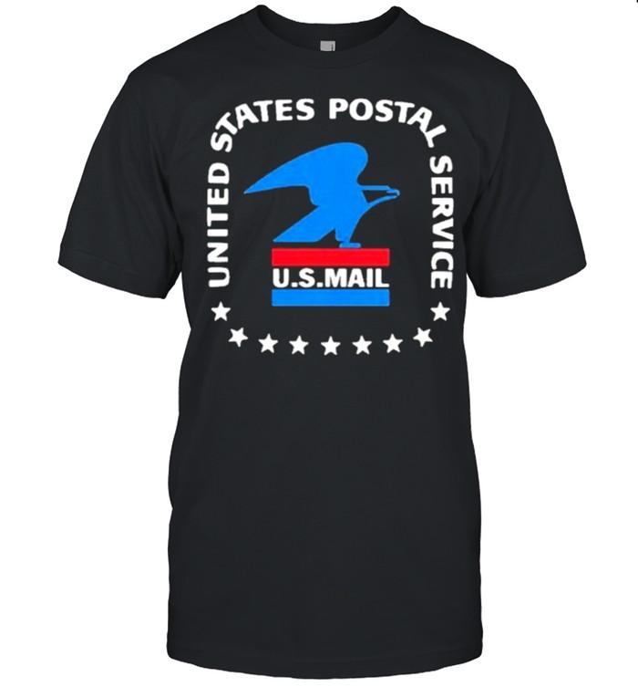 logo united states postal service u s mail shirt Classic Men's T-shirt
