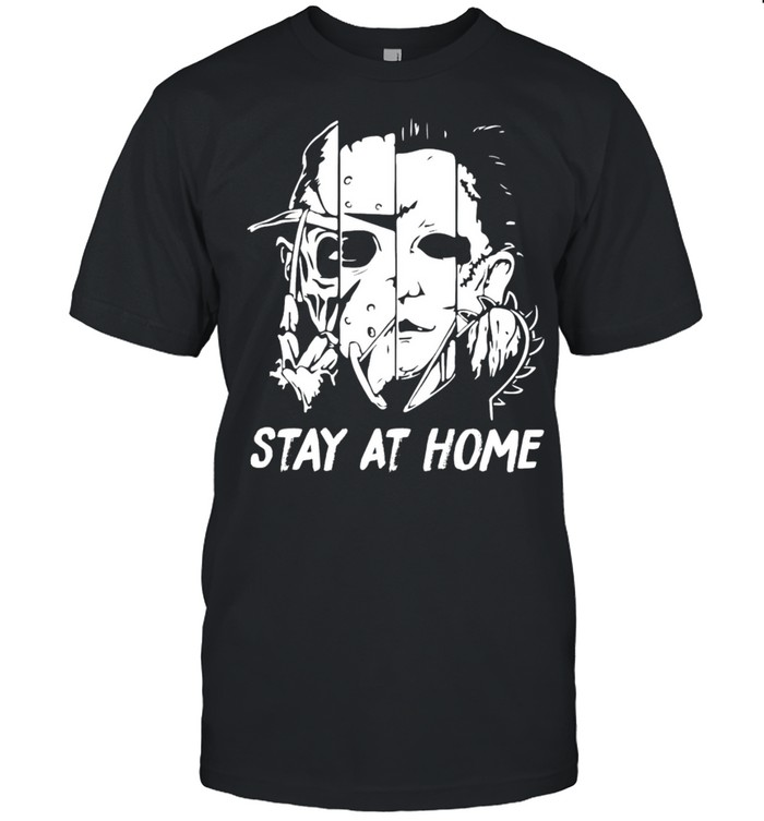 Michael Myers Stay At Home T-shirt Classic Men's T-shirt