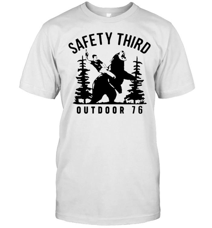 Beer safety third outdoor 76 shirt Classic Men's T-shirt