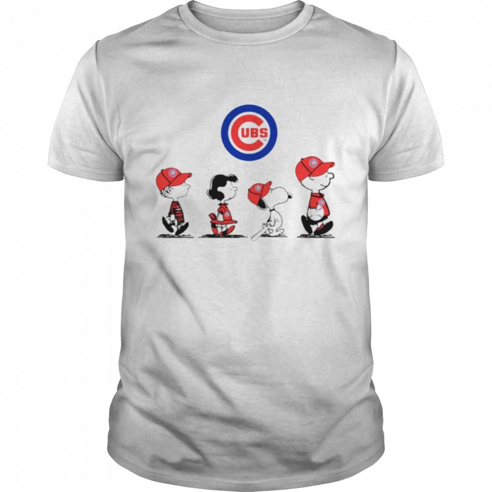 Peanuts Characters Denver Broncos Baseball shirt Classic Men's T-shirt