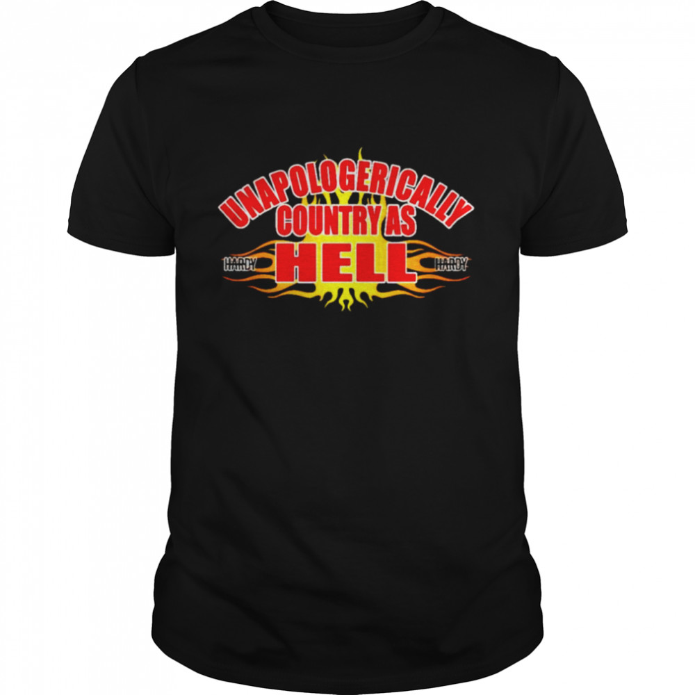 Unapologerically country as hell shirt Classic Men's T-shirt