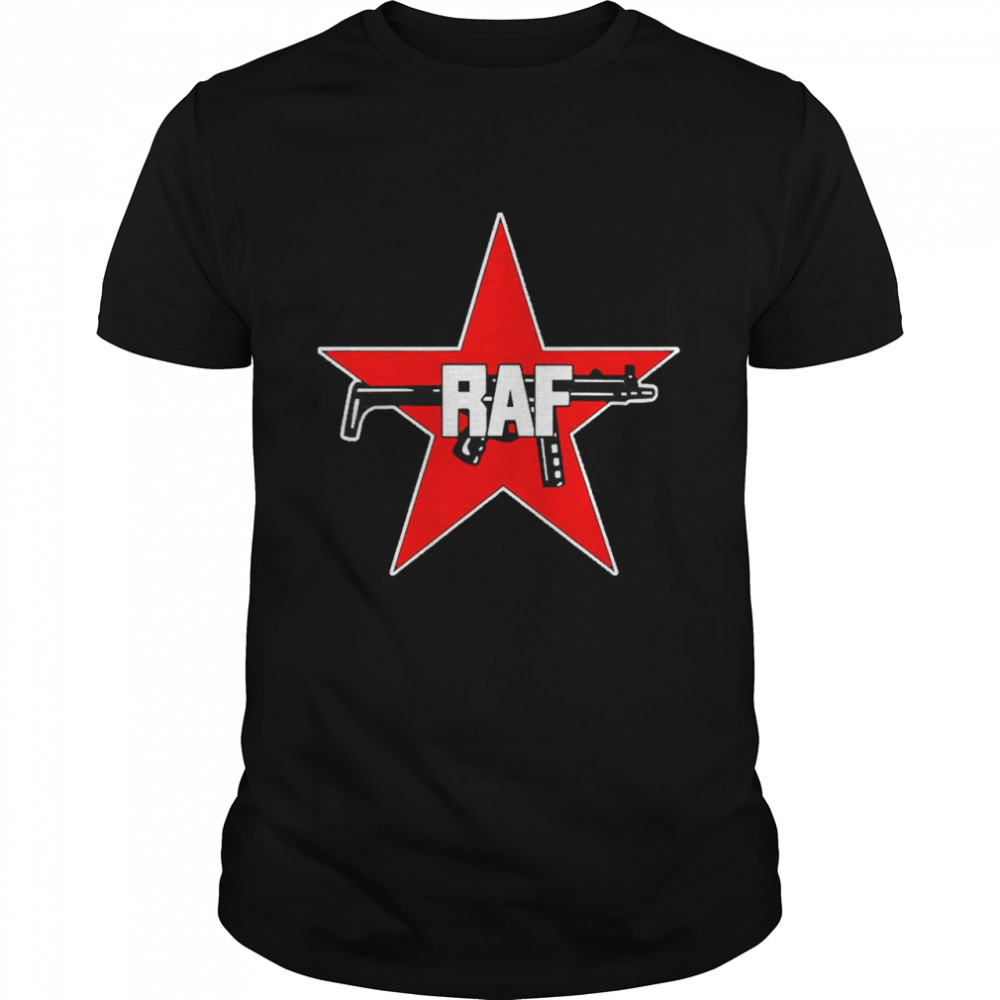 RAF Red Army Faction red star and gun shirt Classic Men's T-shirt