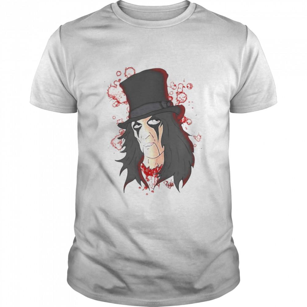 Funny Alice Cooper Music Lover T-shirt Classic Men's T-shirt