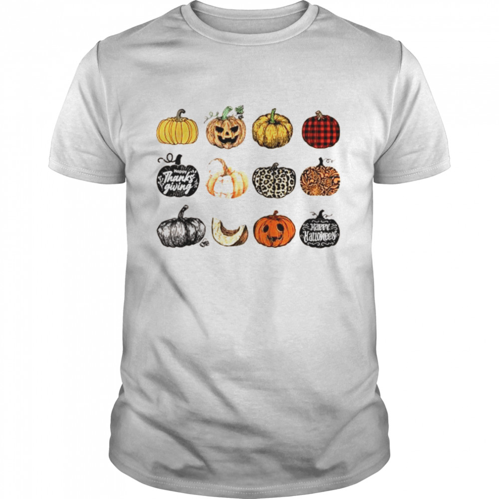 It's the Little Things Fall Harvest Pumpkins Thanksgiving  Classic Men's T-shirt