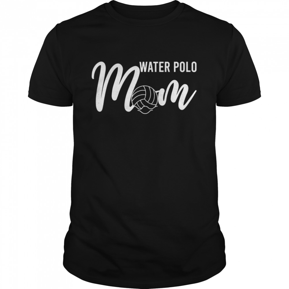 Water Polo Mom Mothers Day Sport Waterpolo Mum  Classic Men's T-shirt