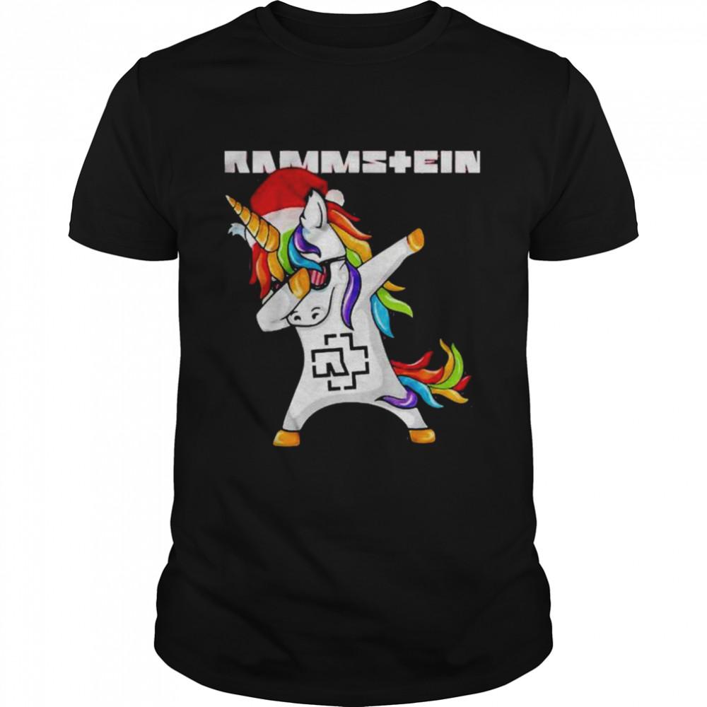 Rammstein Dabbing Unicorn shirt Classic Men's T-shirt