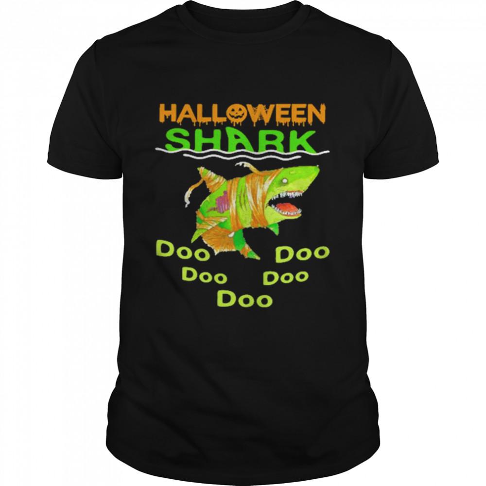 Halloween Shark Doo Doo shirt Classic Men's T-shirt