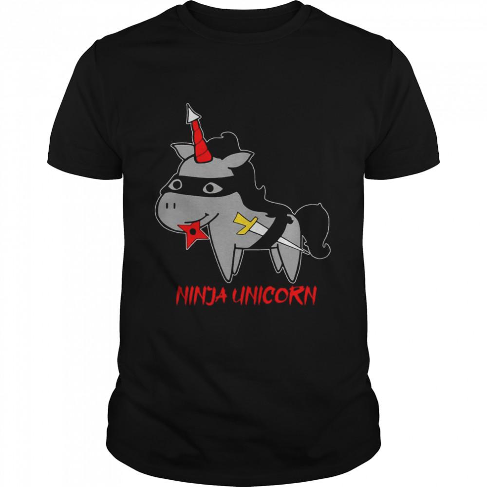 Ninja Unicorn  Classic Men's T-shirt