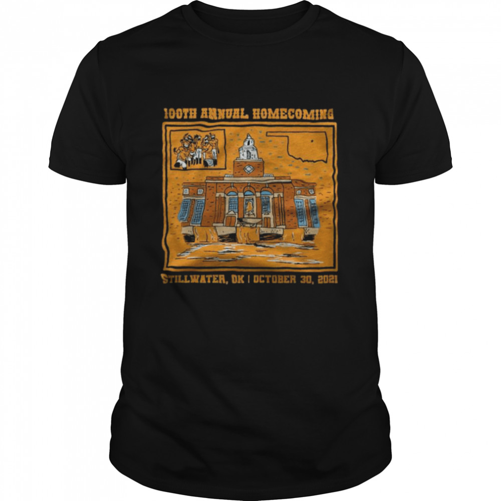 100th Annual Homecoming Stillwater OK October 30 2021  Classic Men's T-shirt