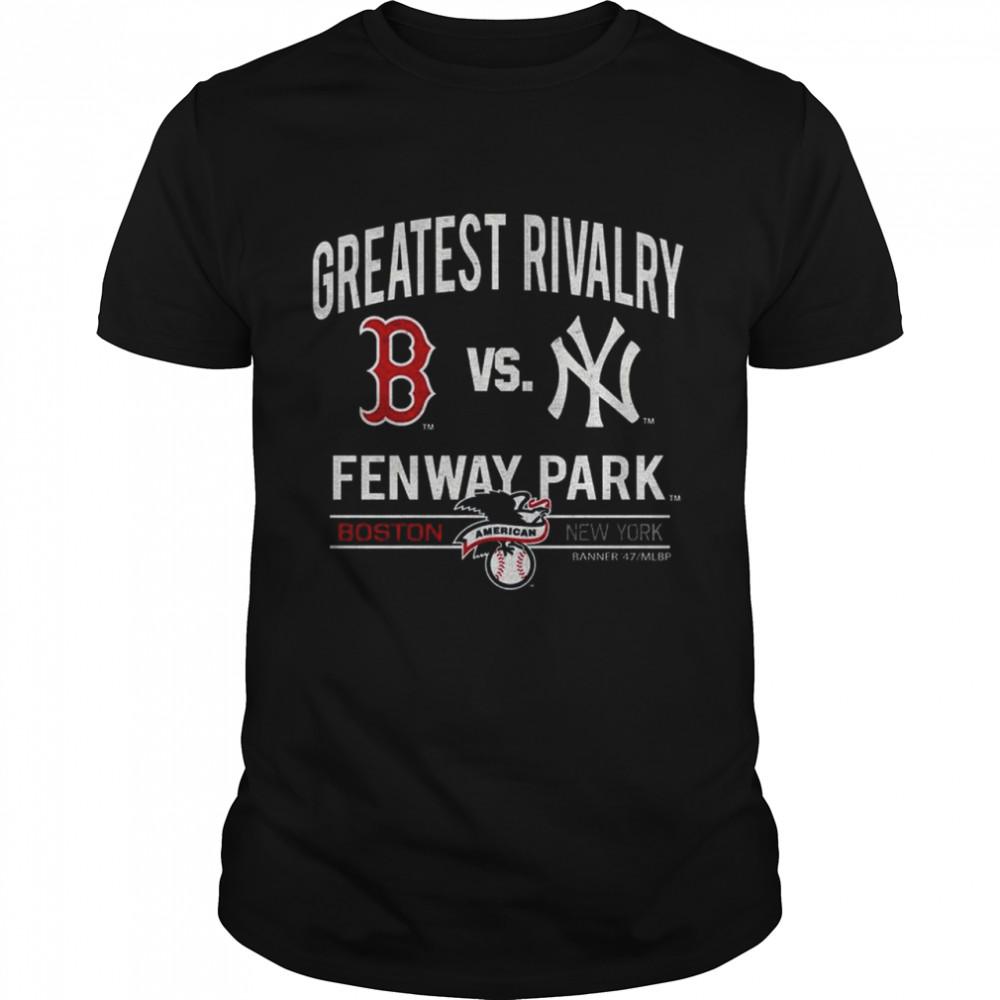 2021 Boston Red Sox vs New York Greatest Rivalry Fenway Park shirt Classic Men's T-shirt