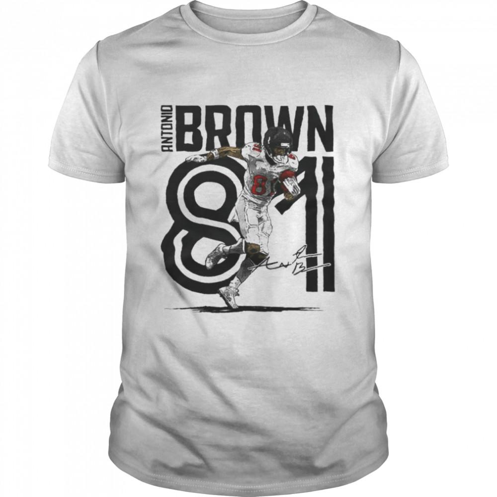 Antonio Brown Tampa Bay Football  Classic Men's T-shirt
