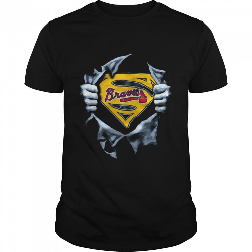 Atlanta Braves Baseball MLB Team Sport Funny T- Classic Men's T-shirt