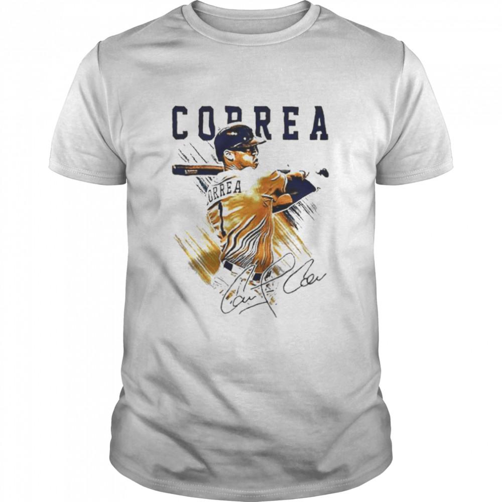 Correa Pastel Houston Astros MLB  Classic Men's T-shirt